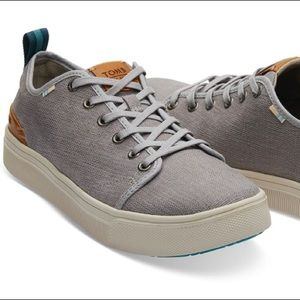 TOMS Drizzle Grey Heritage Sneaker